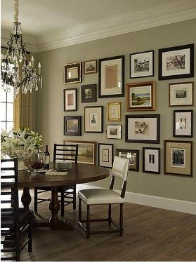Photo Frames on Wall Ideas