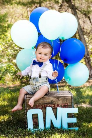 1 Year Old Boy Photoshoot Ideas