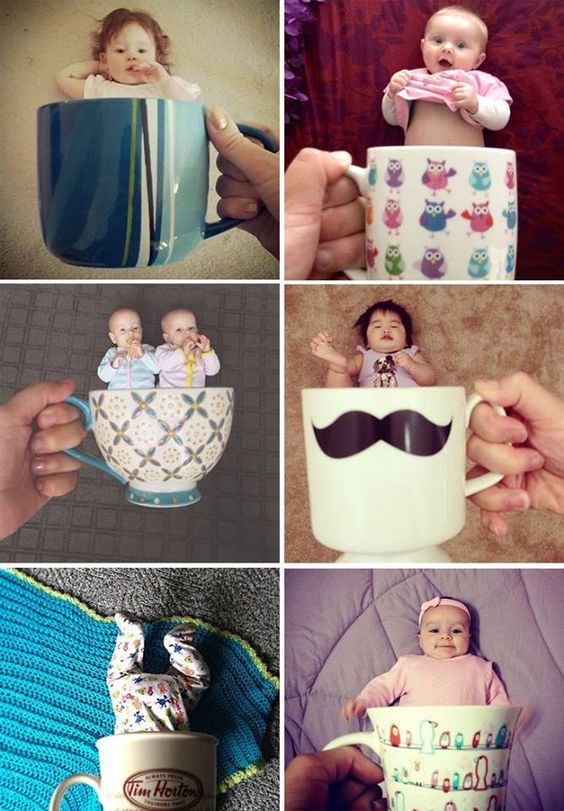 6 Month Old Baby Photo Shoot Ideas at Home