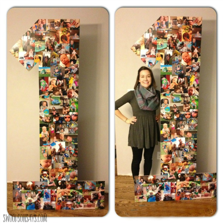 Photo Display Ideas for Birthday Party