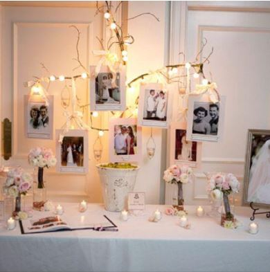 Wedding Photo Display Ideas at Home